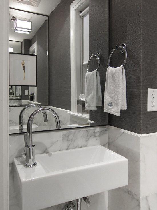 16 Best Powder Room Images On Pinterest Bathroom