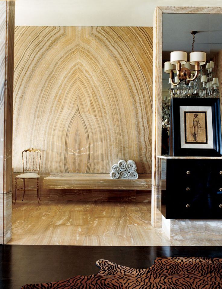 Traditional Bathroom by Kelly Wearstler and Brian Tichenor in Beverly Hills, California