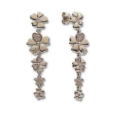 Pandora Rose Drop Earrings Wildflower Meadow   Drop earrings, Earrings, Pandora