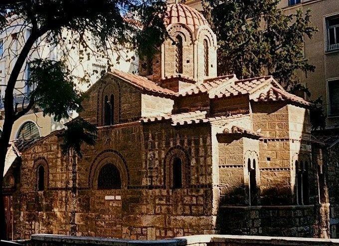 Church of Panagia Kapnikareas, is Byzantine church dating from the 11th AD century _ Athens / by Thanasis Germanos via Panoramio