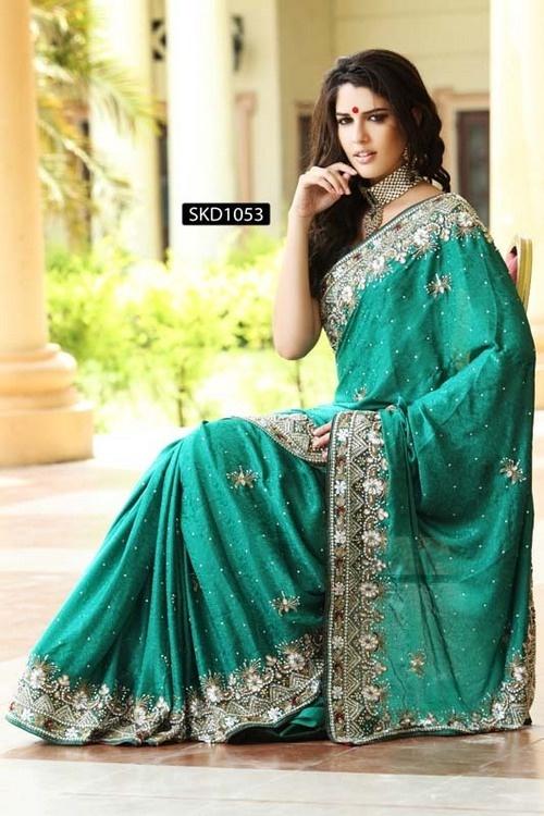 Admirable Jacquard Sari