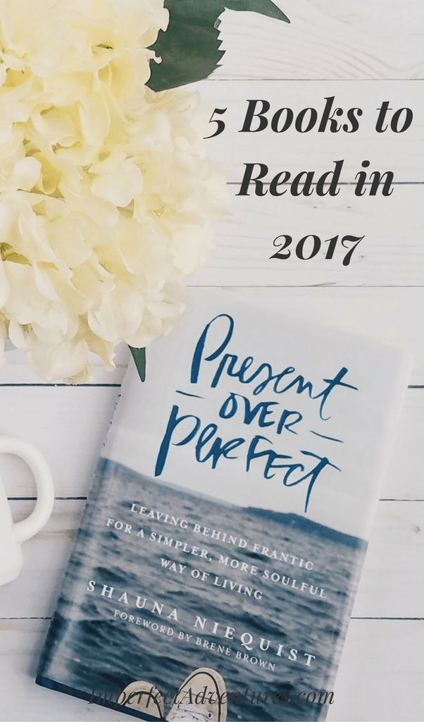 5 books to read in 2017, according to the imperfect adventures blog.