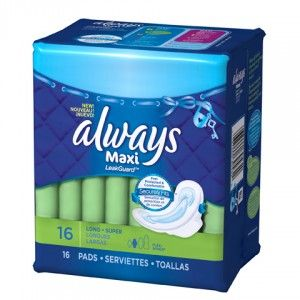 Talking to Your Teen About Her Period: Comfort with Always Securely Fits Maxi    GIVEAWAY