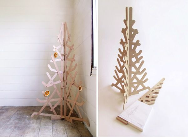 1000 images about wooden christmas on pinterest for Plywood christmas tree