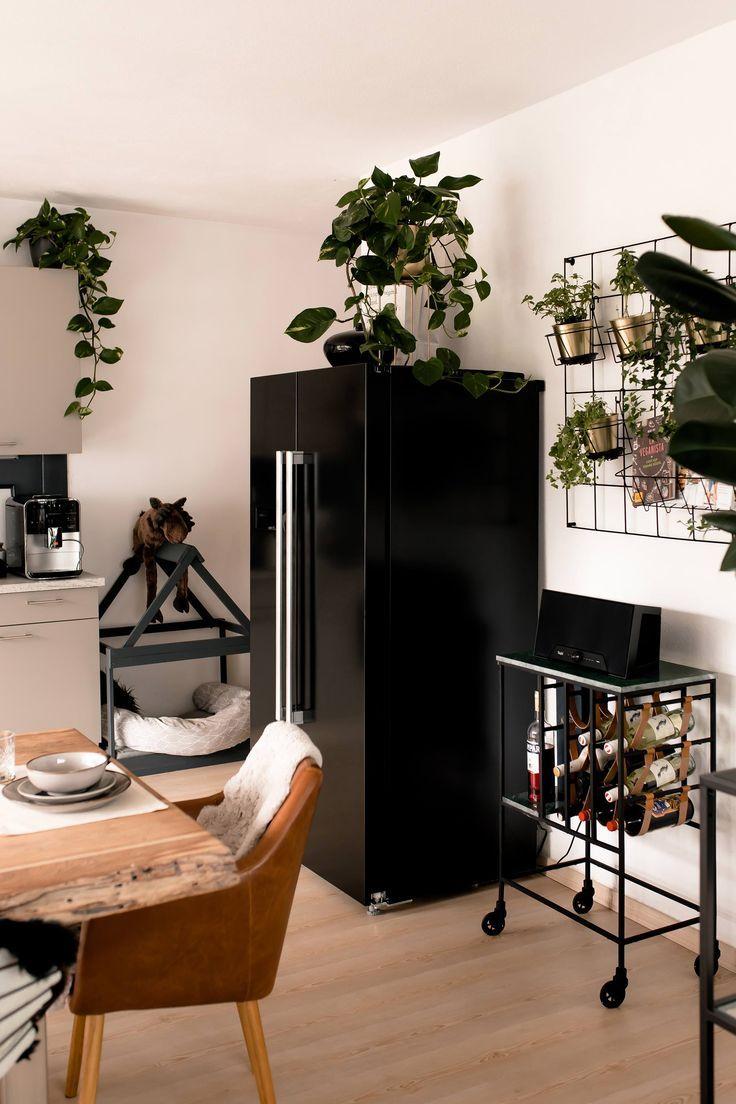 Küchendesign mit minibar küche verschönern mit wenig aufwand mein küchenmakeover inkl
