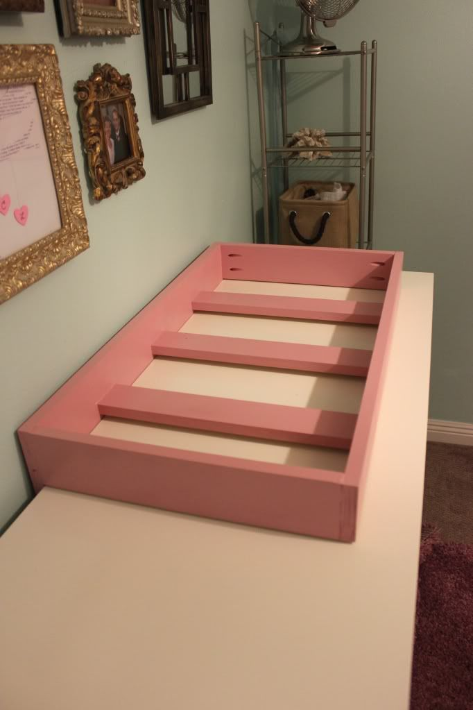Ch-Ch-Ch-Ch-Changes | Haus of Gerz. Baby changing table under 25 dollars.