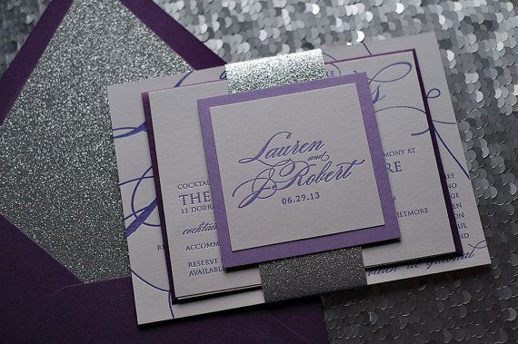 Hey, I found this really awesome Etsy listing at https://www.etsy.com/listing/181007696/metallic-purple-calligraphy-letterpress