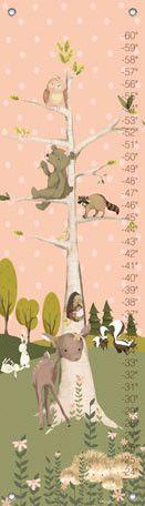 Woodland Pals - Girl Growth Charts