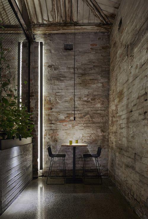 ATELIER RUE VERTE , le blog: Melbourne / Un restaurant végétarien dans une ancienne usine /