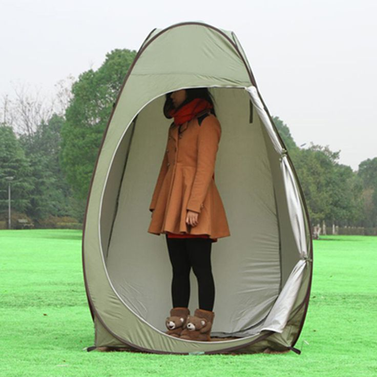 Portable waterproof Large Outdoor Bath Change Clothes Tent shower Fishing Mobile Toilet Tents green color lightweight