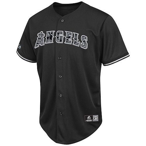 Los Angeles Angels Of Anaheim Night Black Camo Replica