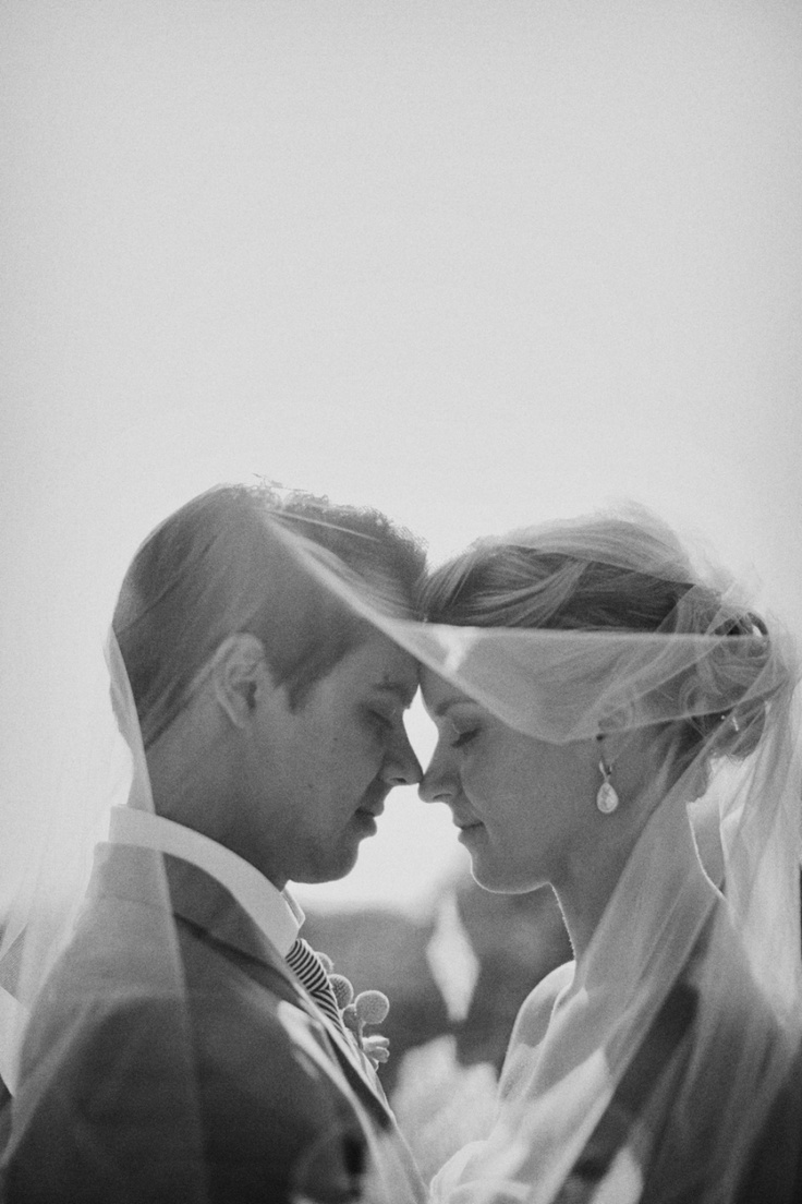 love pictures under a veil.