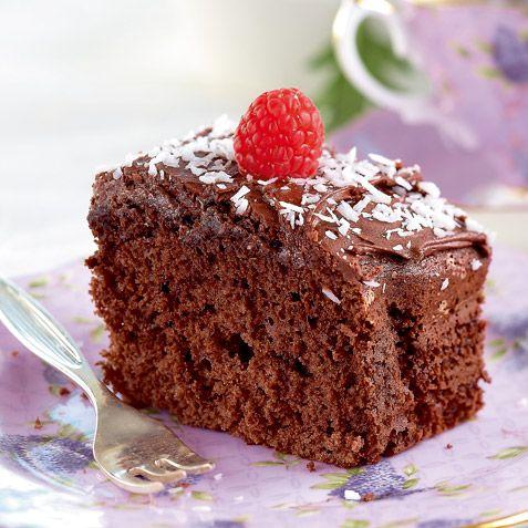 Wenches sjokoladekake i langpanne