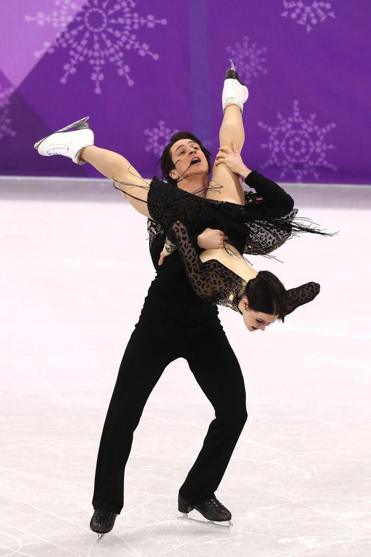 21 Photos Of Tessa Virtue And Scott Moir Figure Skating That Will Make You...Feel Stuff