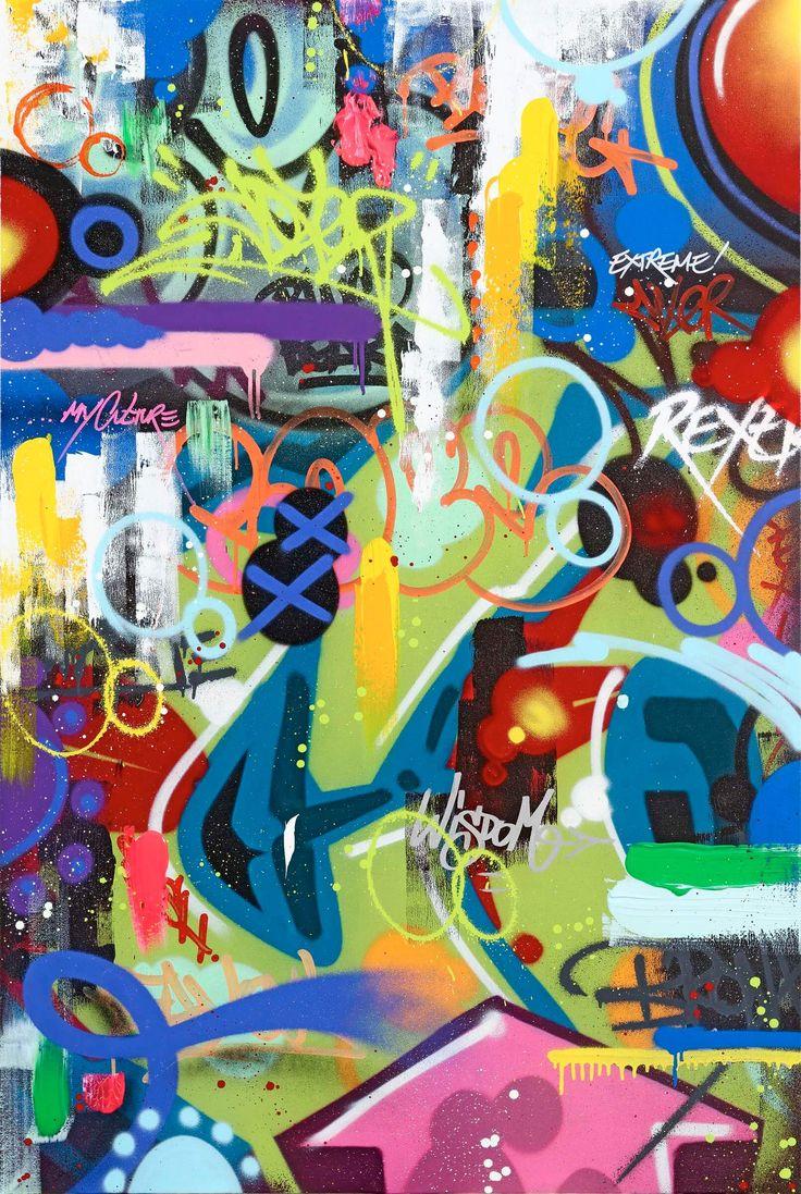 COPE2 - EXTREME MIXER - DAVID PLUSKWA ART CONTEMPORAIN http://www.widewalls.ch/artwork/cope-2/extreme-mixer/ #Acrylic