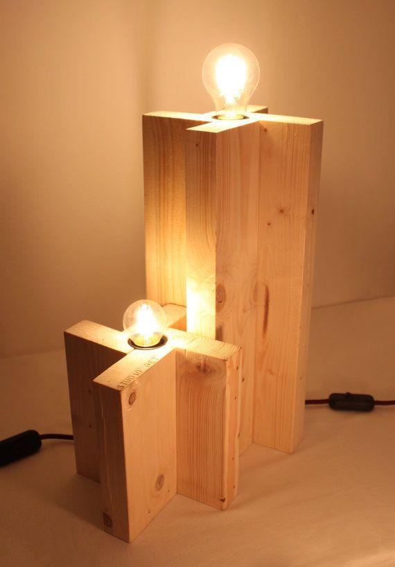 Lampade da tavolo cavo bordeaux. Eco-lampada. di studioGET su Etsy