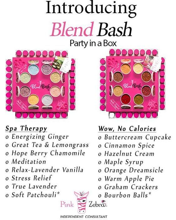 Blend Bash, Party in a box! Four different themes to choose  Contact