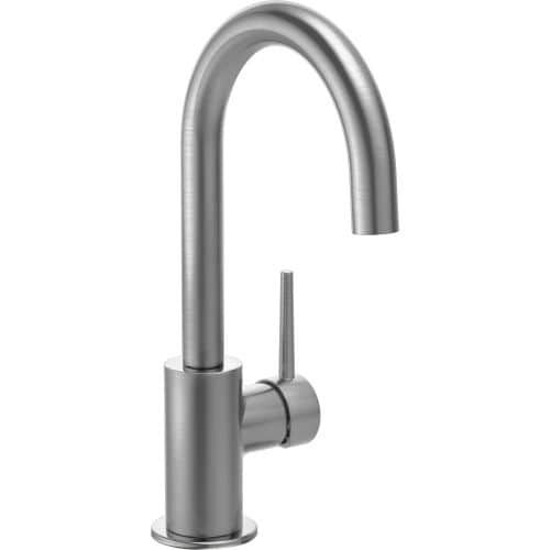 Delta 1959LF Contemporary Single Handle Bar Faucet with Swivel Spout (Stainless Steel (Silver) Finish)