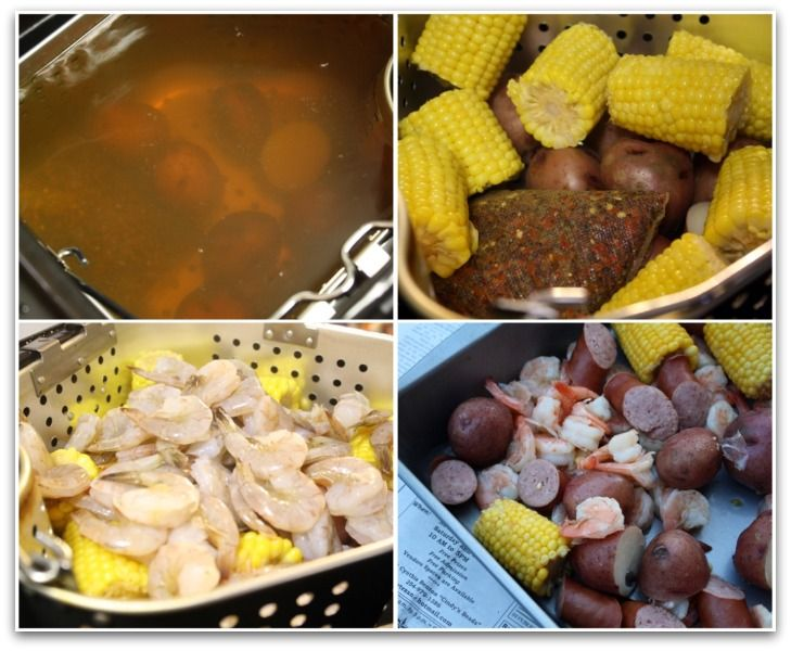 Low Country Shrimp Boil {using Butterball Indoor Turkey Fryer by Masterbuilt}