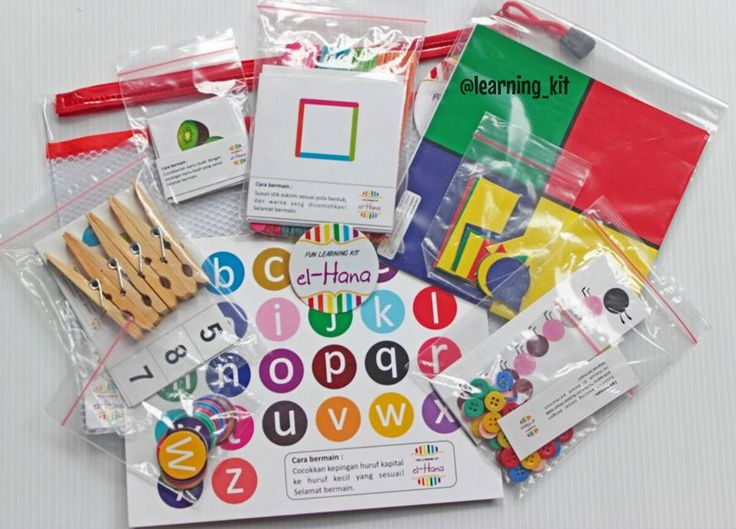 All set 6 Busy Bags by elHana Learning Kit