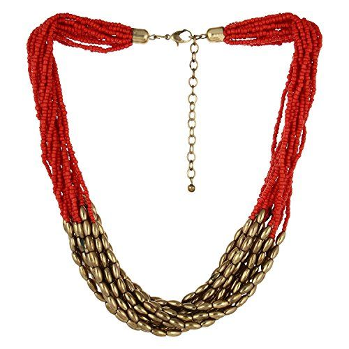 Elegant Casual Wear Red and Golden Beads Indian Bollywood... https://www.amazon.ca/dp/B01N6KXODG/ref=cm_sw_r_pi_dp_x_0MpWyb1JRMEF7
