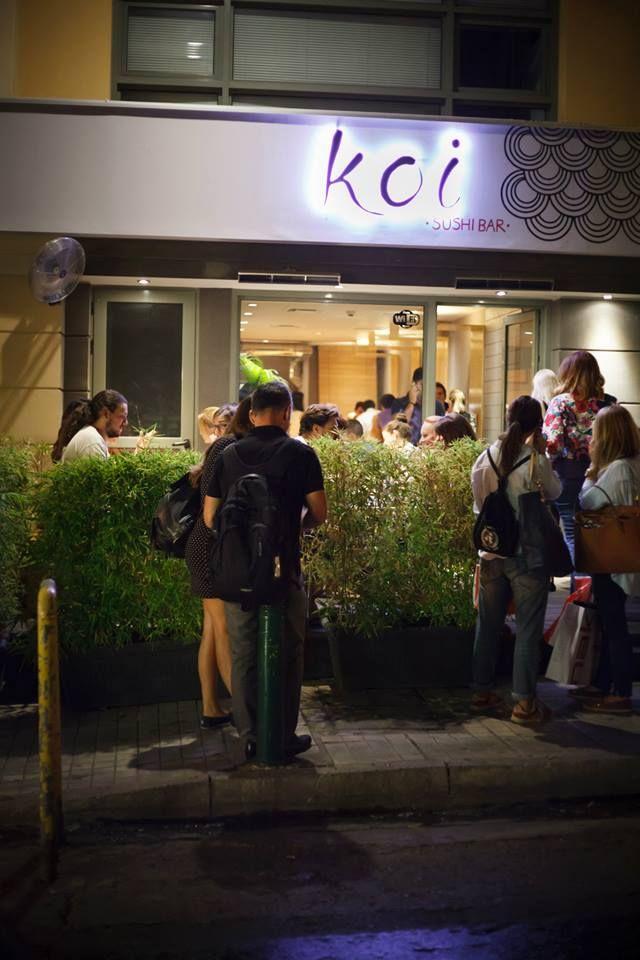Σύνταγμα, Βούλα, Χαλάνδρι και τώρα Κηφισιά! Το Koi Sushi bar συνεχίζει την επιτυχημένη του πορεία και προσφέρει τώρα τις μοναδικές γεύσεις του μέσα από ένα ακόμη νέα σημείο στην αγορά των Βορείων Προαστίων