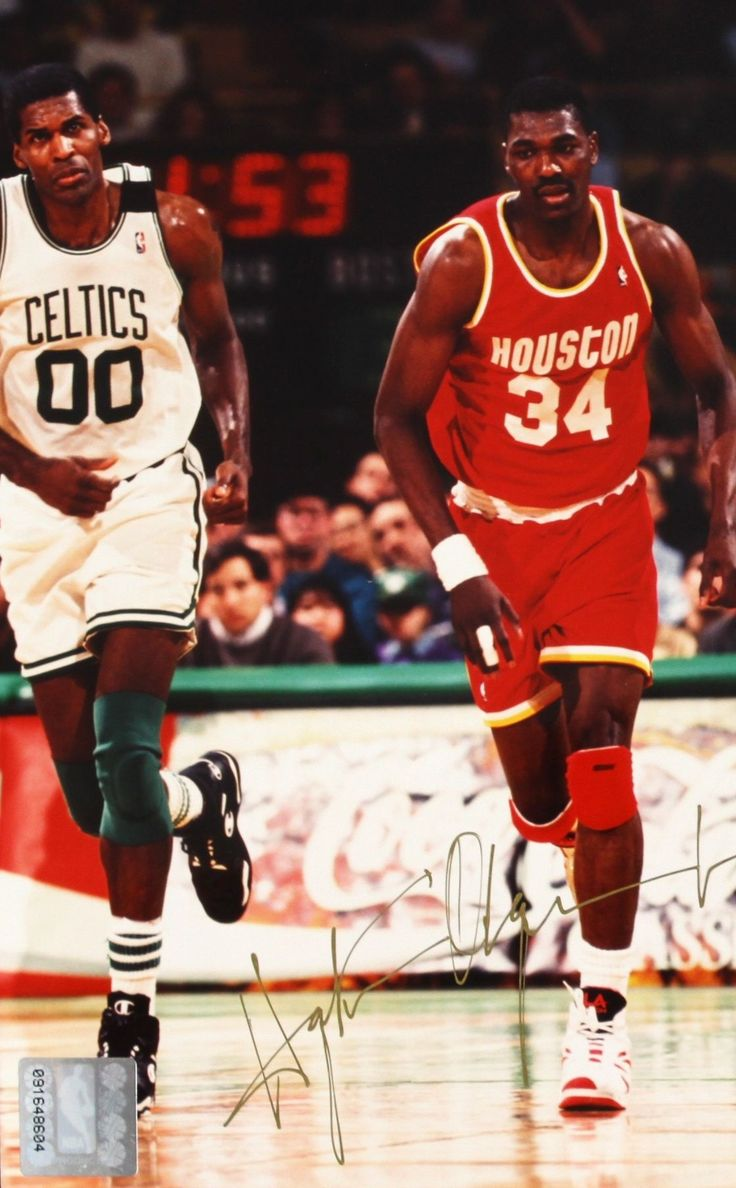 "212 best Hakeem ""The Dream"" Olajuwon images on Pinterest"