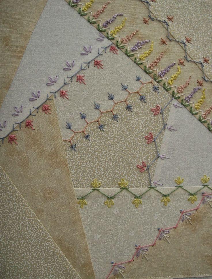 Patchwork Allsorts: Basic Crazy Quilt Course: Progress Update