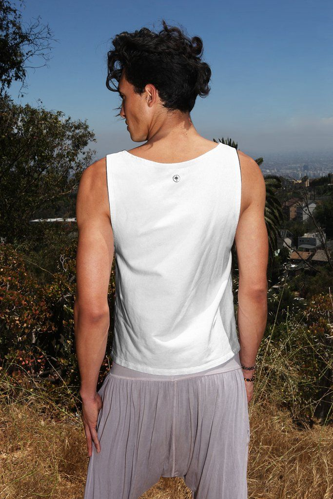 75ea82fc3e38c Organic Tank Top Men's Trucker Eco-Friendly Yoga – Luminous Being Yoga  Clothing