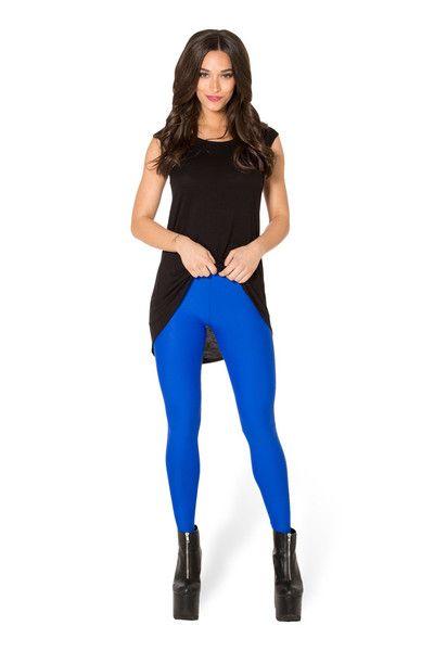 Matte Royal Blue Leggings › Black Milk Clothing - Bought in M.
