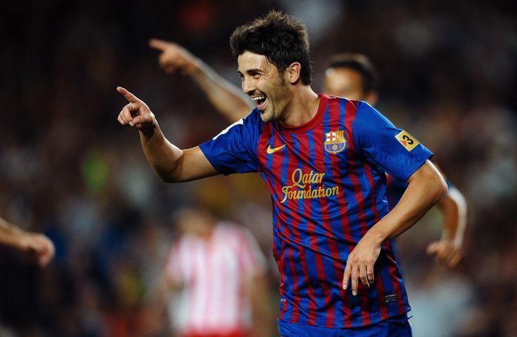 David Villa Football Player
