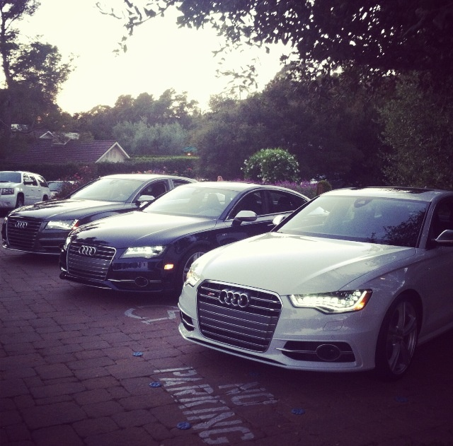 Audi's S6, S7, and S8. You want these.: Location, Audi S S6