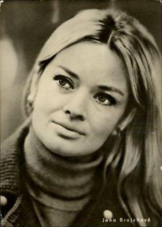 jana brejchova - Czech actress