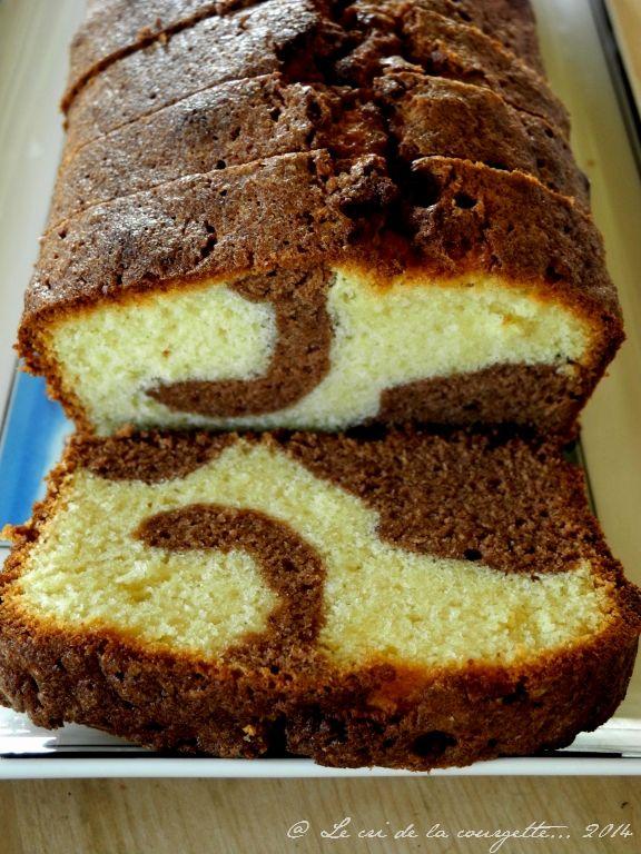 "Cake marbré façon ""Savane"" & sans gluten"
