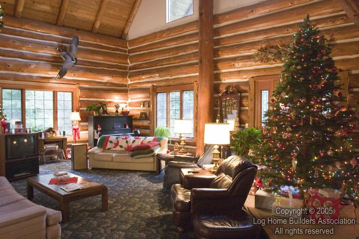 17 best images about christmas log home on pinterest