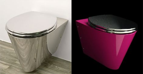 hot pink toilet bowl seat | Neo-Metro MiniLoo pink Toilet | Latest Trends in Home Appliances