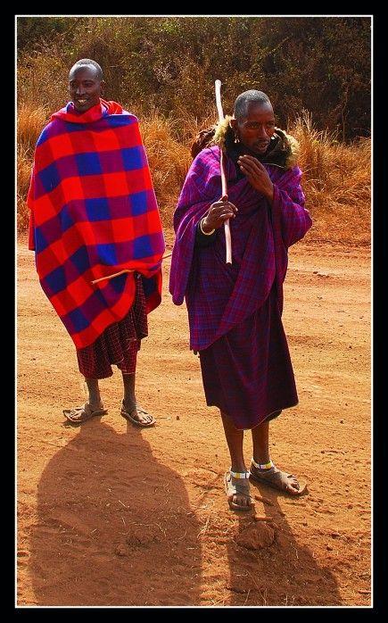 massai krijgers, Tanzania
