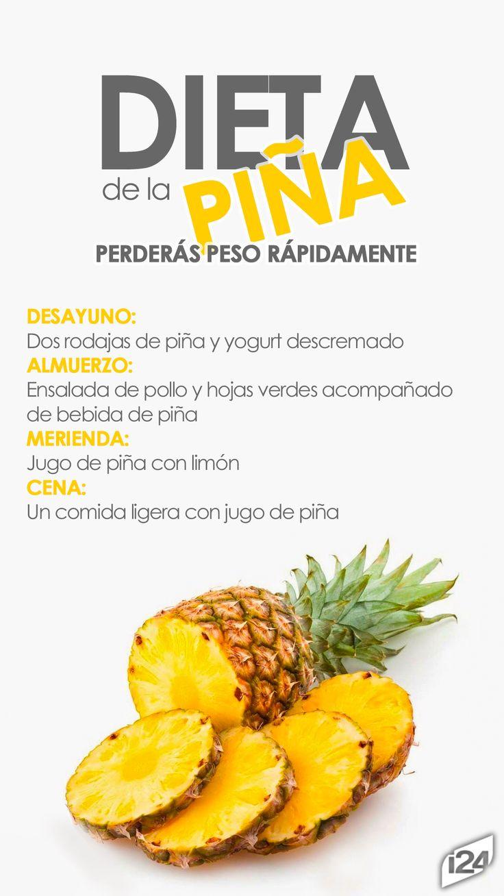 Aprovecha las bondades de la piña #Fruit #Pineapple #Piña #Saludable #dieta