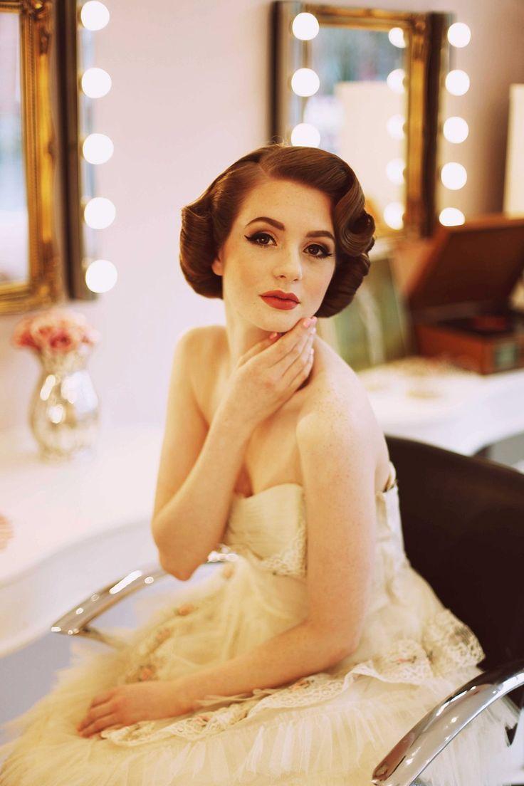 Elegante 1950er Mode für die moderne Braut | Love My Dress®® UK Hochzeit …   – Wedding hair