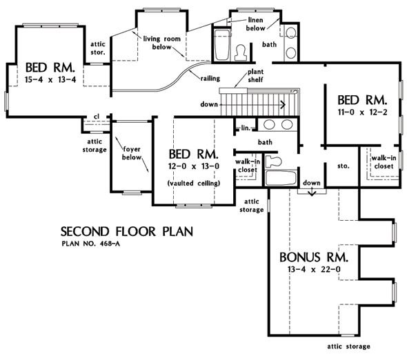The bedford house plan