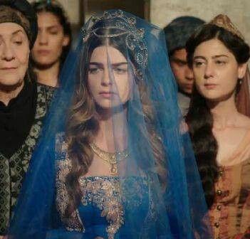 Muhteşem Yüzyıl Mihrimah Sultan kına kıyafeti