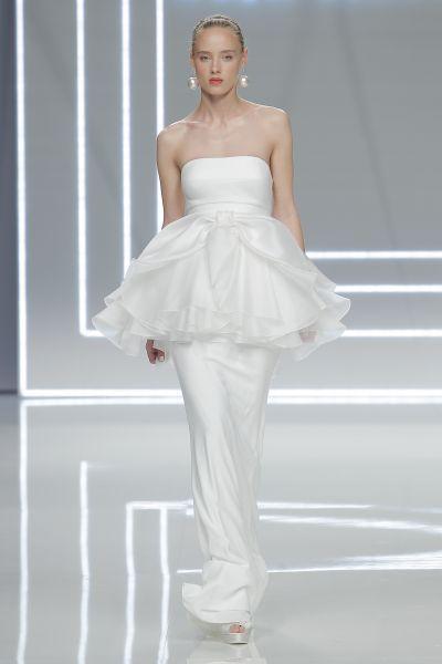Vestidos de novia palabra de honor 2017: ¡El diseño más deseado! Image: 24
