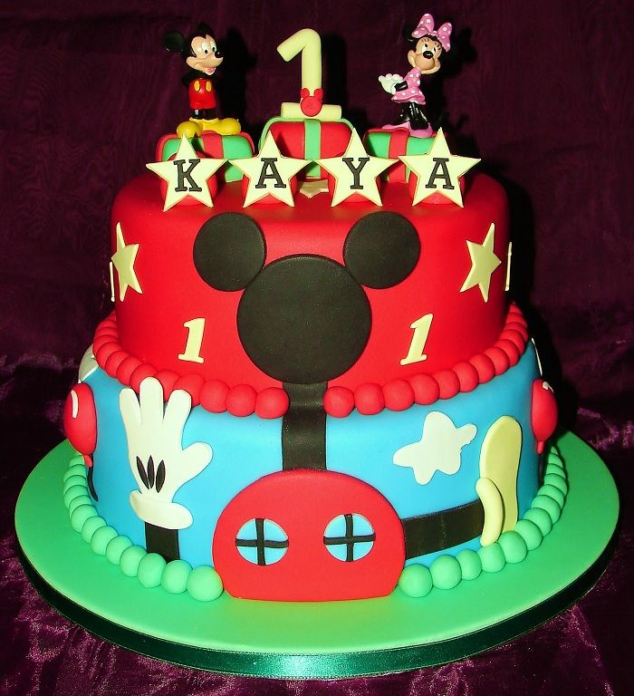 Funny Mickey Mouse Birthday Cakes - http://mycakedecors.com/funny-mickey-mouse-birthday-cakes/