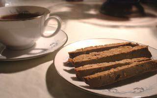 Ginger Almond Biscotti Recipe | Simply Recipes