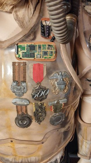 Costumes from Mad Max Fury Road up close #furyroadfuckyeah #madmax2015