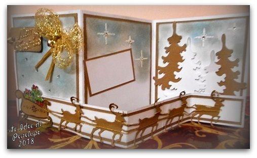 LE IDEE DI PENELOPE: una card di Natale ritardataria...