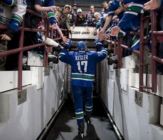 Ryan Kesler  Vancouver Canucks
