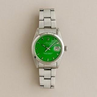 Vintage GreenRolex Curr Sold, Rolex Watches, Crew Sold, Bright Green Vintage, Vintage Wardrobe, Crew Fashion, Vintage Green, Green Vintage Rolex Curr, Men Watches