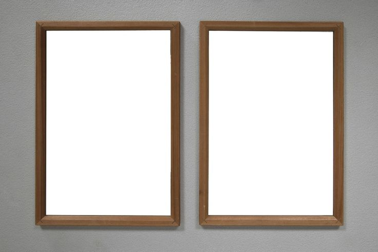 Pair Of Peder Moos Mirrors