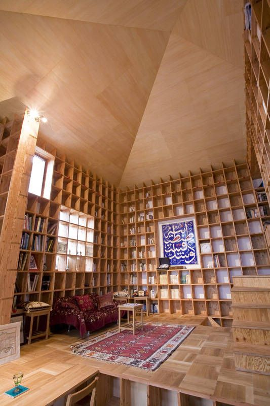 Found through @brenebrown via @brainpicker Want to do this to my studio~: Libraries, Bookshelves, Storage Spaces, Dreams Houses, Home Interiors, Shelf Pods, Books Shelves, Books Collection, Islam Architecture